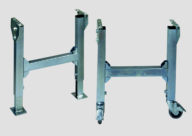 Patas regulables serie pr prx convex technology s l for Patas con ruedas