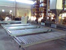 Instalación para el transporte de cajas