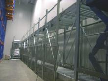 Instalación automática para paletización en cámara frigorífica a -25ºC