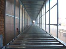 Instalación de externalización: Desde enfardado del palet hasta su salida al exterior