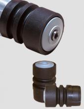 Cabezales Convex de acero inoxidable, hierro, polipropileno o poliamida serie CB800
