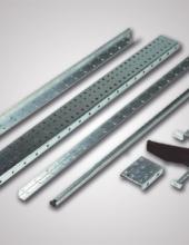 Perfiles Convex para el montaje de instalaciones de transporte de cajas y transporte de palets en instalaciones industriales.