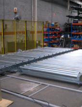 Carro de traslación Convex extrabajo para el traslado de cajas y palet en instalaciones industriales