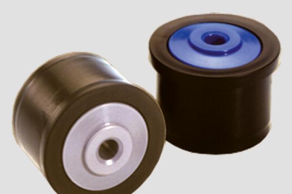 Cabezales Convex modelo CB100 para rodillos y transportadores de rodillos empleados para el traslado de cajas en inslalaciones industriales