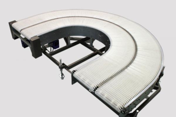 Curva de banda modular CVBM para transportadores de banda Convex
