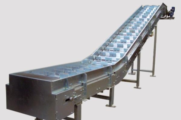 Transportador de tablillas metálicas Convex
